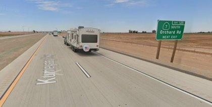 [01-22-2021] Condado De Imperial, CA - Una Persona Resultó Herida Después De Un Accidente De Motocicleta Cerca De La Carretera Interestatal 8