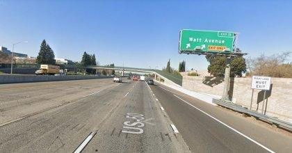 [01-26-2021] Condado De Sacramento, Ca - Siete Personas Resultaron Heridas Después De Una Colisión De Varios Vehículos En La Autopista 50
