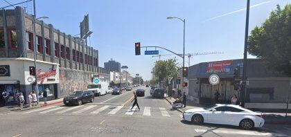 [02-06-2021] Los Ángeles, CA - Una Persona Resultó Herida Después De Un Accidente De Conductor Ebrio En Hollywood