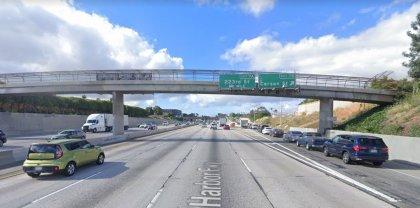[02-09-2021] Los Ángeles, CA - Seis Personas Resultaron Heridas Después De Una Colisión Grave De Varios Vehículos En Carson