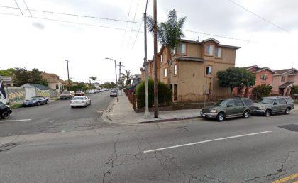 [02-21-2021] Los Ángeles, Ca - Una Persona Resultó Herida Después De Un Accidente De Atropello Y Fuga Cerca De La Calle 49