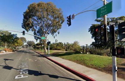 [03-29-2021] Condado De San Diego, CA - Una Persona Resultó Herida Después De Un Accidente De Peatones En Park Boulevard