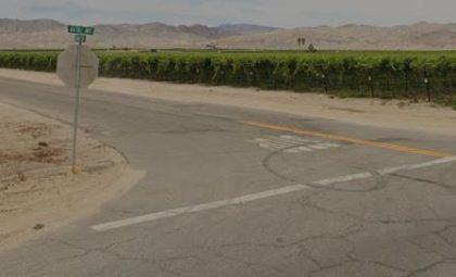 [04-16-2021] Condado De Riverside, CA - Una Persona Resultó Herida Después De Una Colisión De Dos Vehículos En La Meca